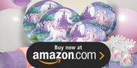 Unicorn Fantasy Birthday Supplies