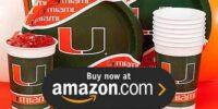 University of Miami Birthday Supplies