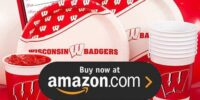 University of Wisconsin Birthday Supplies