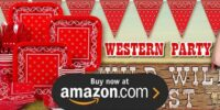 Western Birthday Supplies