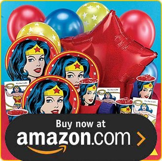 Wonder Woman Birthday Supplies