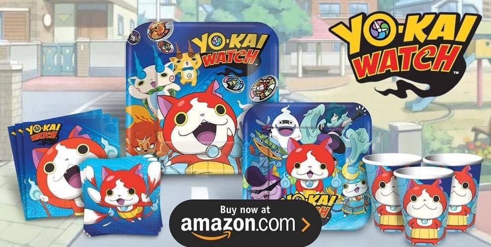 Yo-Kai Watch Birthday Supplies