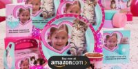 rachelhale Glamour Cats Personalized Birthday Supplies